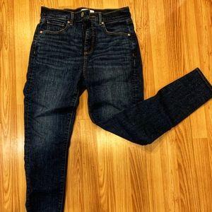 Loft High Waisted Skinny Jeans